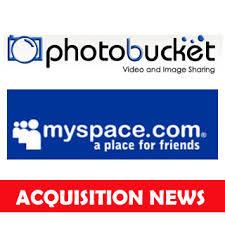 MySpace and Photobucket logos