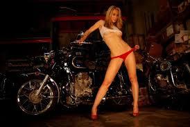 Korean Sexy Motorcycle Show Girl