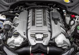 2011 Porsche Panamera Car Engine