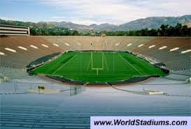Rose Bowl Stadium in Los