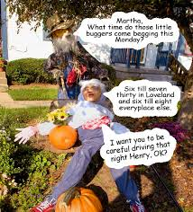 Trick or Treat hours for