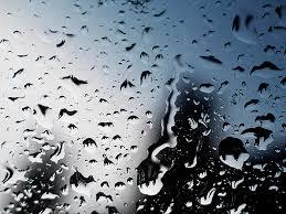 عکس شیشه بارانی