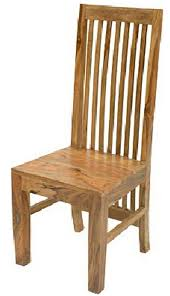 hard wooden chair