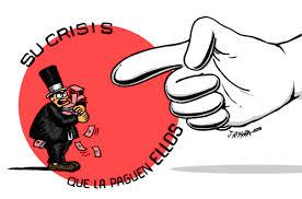 La Crisis que la paguen los ricos. J. Mora