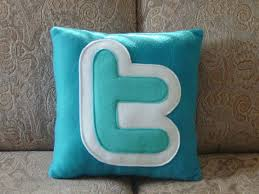 twit pillow