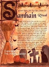 Tags: Samhain, Rituals