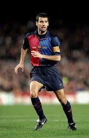 Former player Pep Guardiola