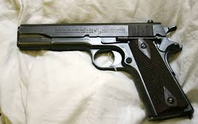 And the only pistols that Colt