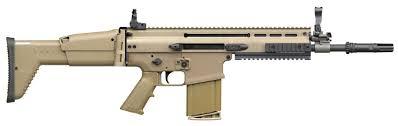 Liste des répliques - Partie III, les fusils d'assaut [En cours] SCAR-H_assaut_rifle_FN_Herstal_Belgium_001
