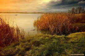 Photo: Evening on the lakeside