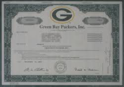 [edit] Green Bay Packers Stock