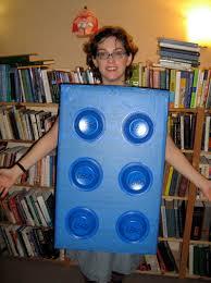 Last Minute Lego Costume