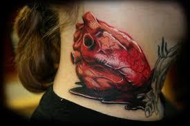 Camera Tattoo Neck
