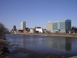 Cedar Rapids, IA : Skyline in
