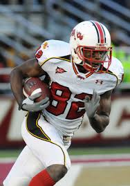 receiver Torrey Smith,