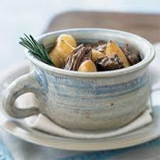 Rosemary lamb and potatoes