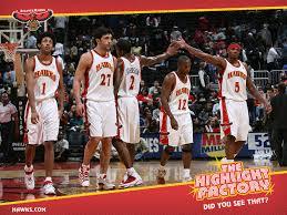 Atlanta Hawks Team In