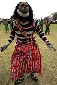 Traditional Zambian Dancer