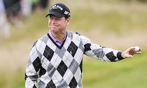 Tom Watson during the first
