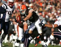 Peyton Hillis #40 of the