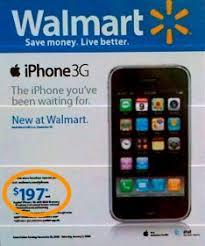 8GB Walmart iPhone will