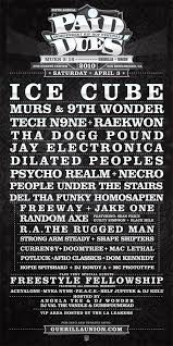 PAID DUES 2010 LINEUP