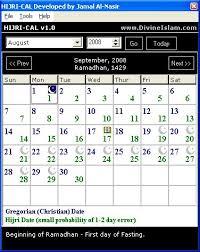 kalender hijriah,hijriah,islamic calender,Hijri Calender