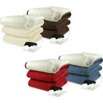 Biddeford Blankets Comfort Knit Heated