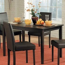 Homelegance 2434-48 Casual Clearly Dining