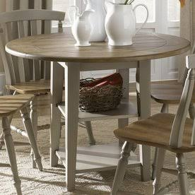 Al Fresco Driftwood/Taupe Round Dining
