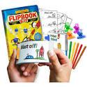 Rocket Robot Flipbook Kit