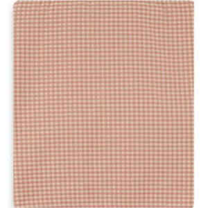 Madison Twin Bed Skirt Pink and Tan Check