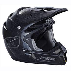 Klim Stealth Black F4 ECE Certified Helmet