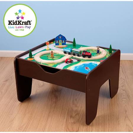 KidKraft 2-in-1 Activity Train Table Lego
