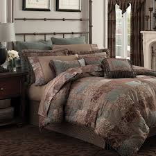 Croscill Galleria Brown Queen Comforter