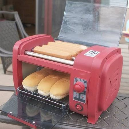 HLA Hot Dog Roller and Toaster