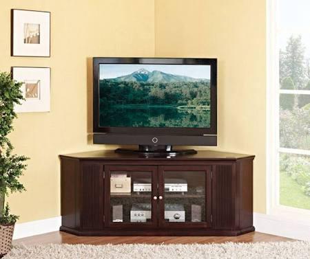 Acme 91068 Matope Corner TV Stand in Espresso