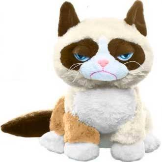 Ganz Grumpy Cat Plush - 8