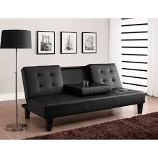 Julia Cup Holder Convertible Futon Sofa