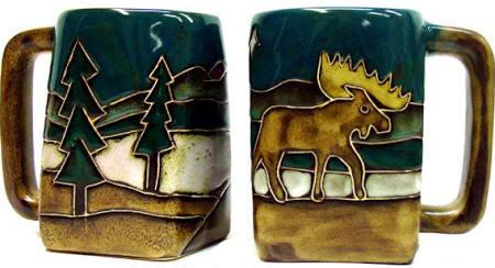 511V1 - Mara Stoneware Mug 12oz Square