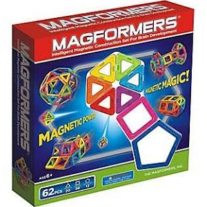 Magformers 62 Piece Magnetic Building