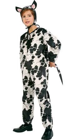 Child Cow Costume - Large