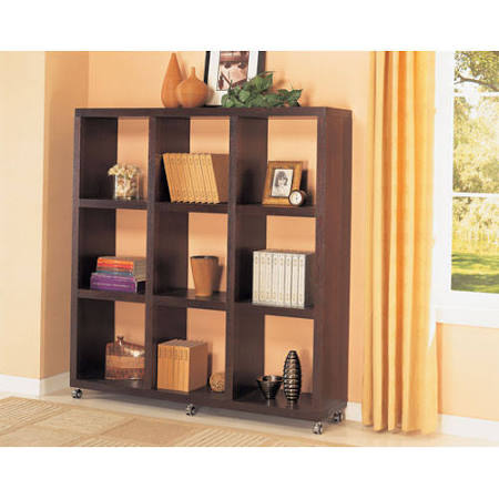 Coaster 800083 Wood Cube Bookcase with