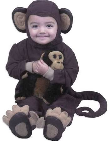Baby Monkey Costume - Infant