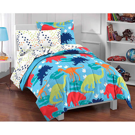 Dream Factory Dinosaur 5 Piece Bed Set