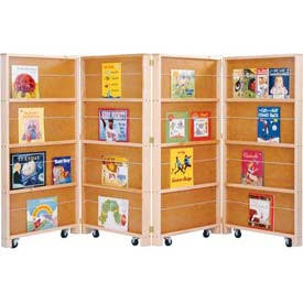 Jonti-Craft 0267JC Mobile Library Bookcase