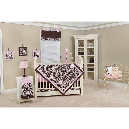Pam Grace Creations 10 Piece Crib Bedding
