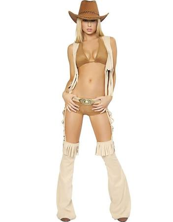 Sexy Easy Rider Deluxe Cowgirl Costume