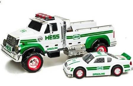 2011 Hess Toy Truck and RCar