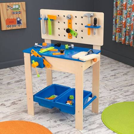 KidKraft Deluxe Workbench with Tools KK-63329